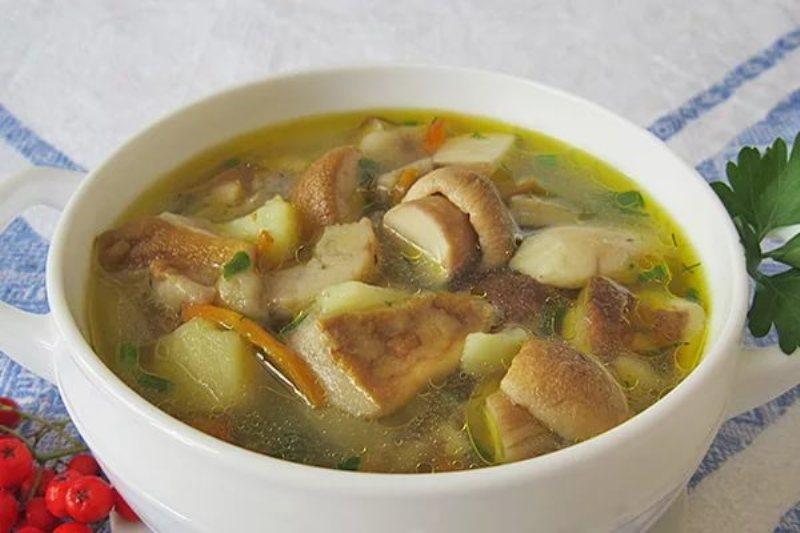 Грибной суп рецепт из замороженных грибов с курицей рецепт с пошагово в