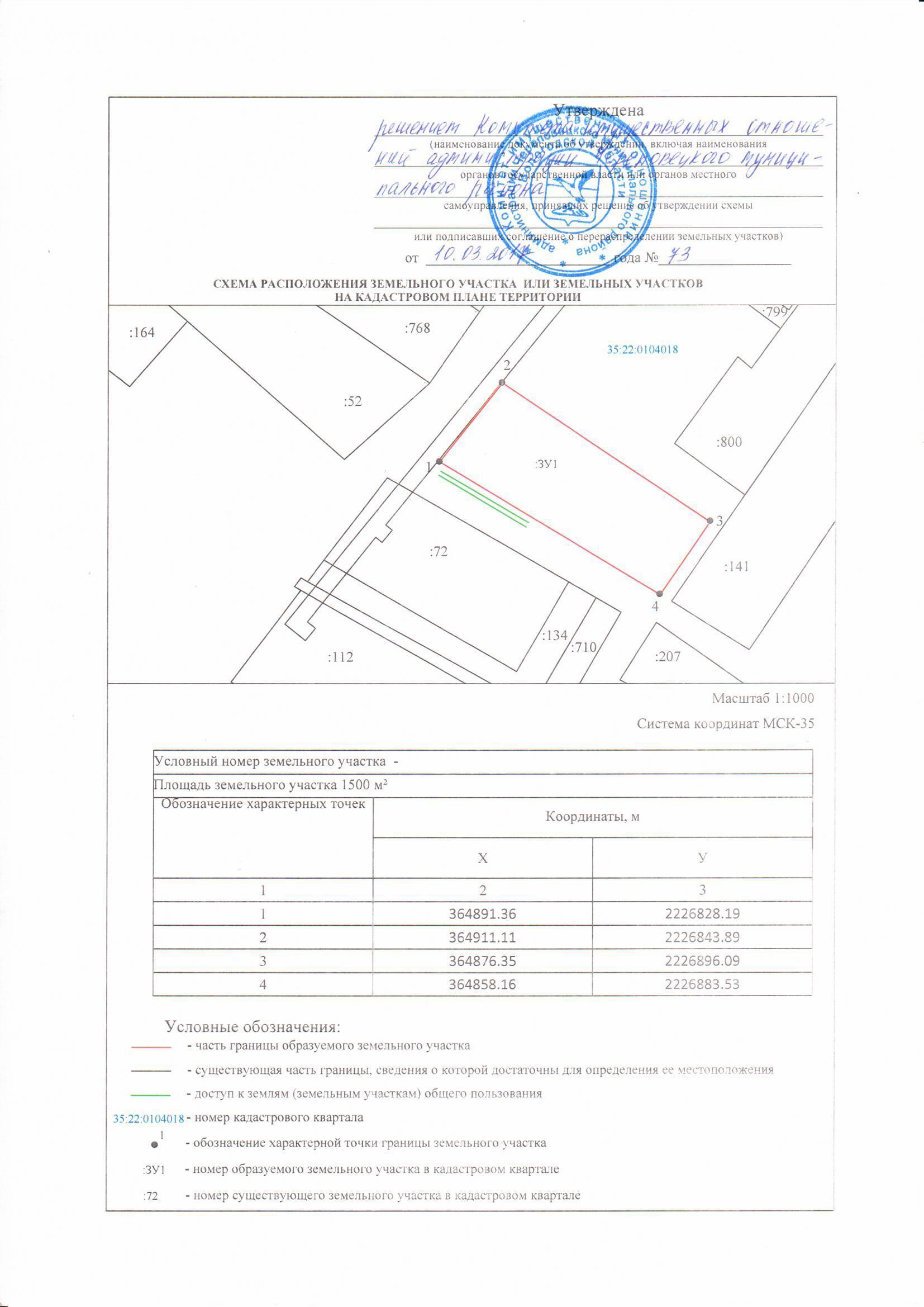 Срок утверждения схемы расположения земельного участка