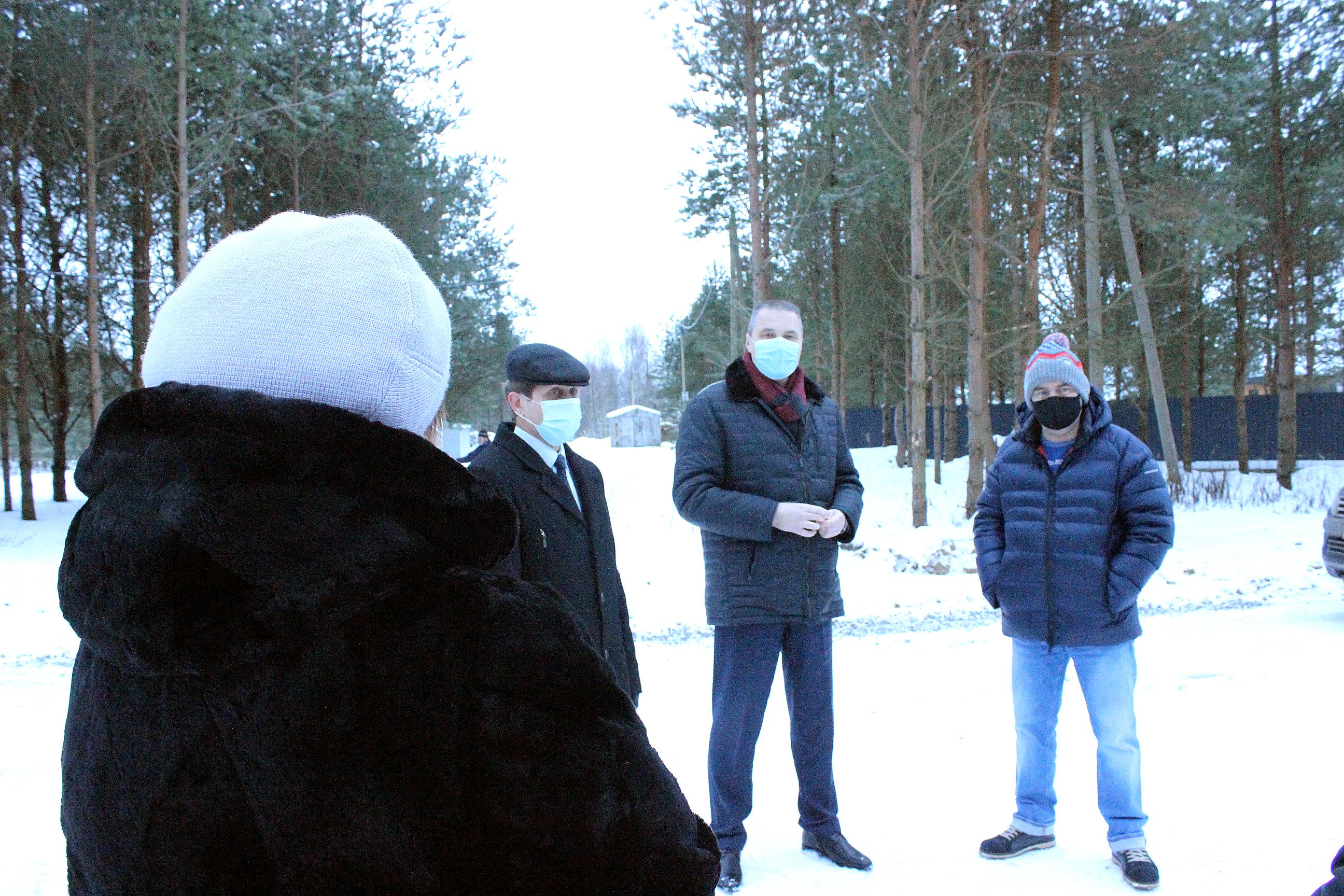 Депутат ЗСО Станислав Березин посетил Череповецкий район в рамках проекта «Градсоветы : личный контроль»