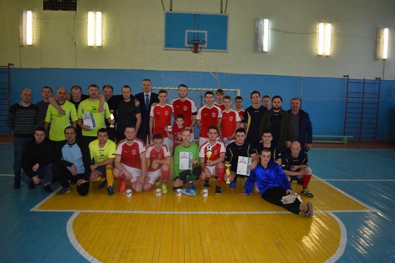 21 декабря завершился розыгрыш кубка Череповецкого района по мини-футболу среди мужских команд